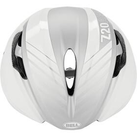 Bell Z20 Aero MIPS Casque, matte/gloss white/silver